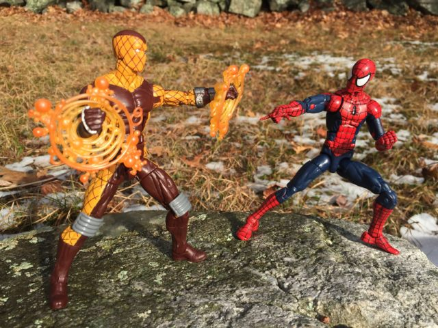 "Marvel Legends Spider-Man vs. Shocker 6"" Figure"