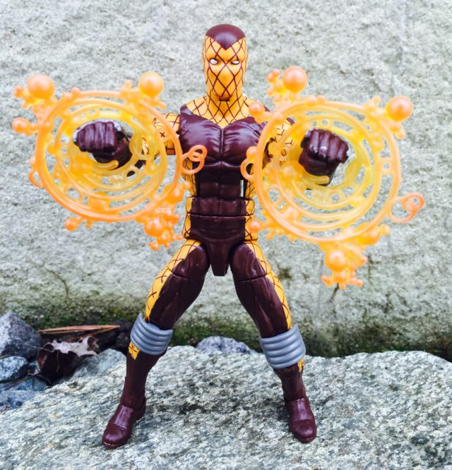 Shocker Marvel Legends Hasbro Figure Blasting
