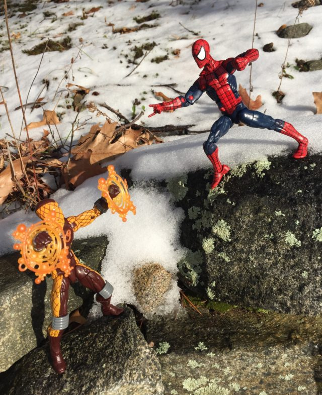 2017 Marvel Legends Spider-Man vs. Shocker Six Inch Figures