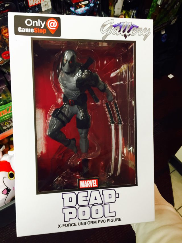 Gamestop Exclusive X-Force Deadpool Statue