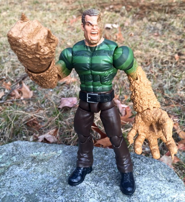 Marvel Legends 2017 Sandman Figure Review