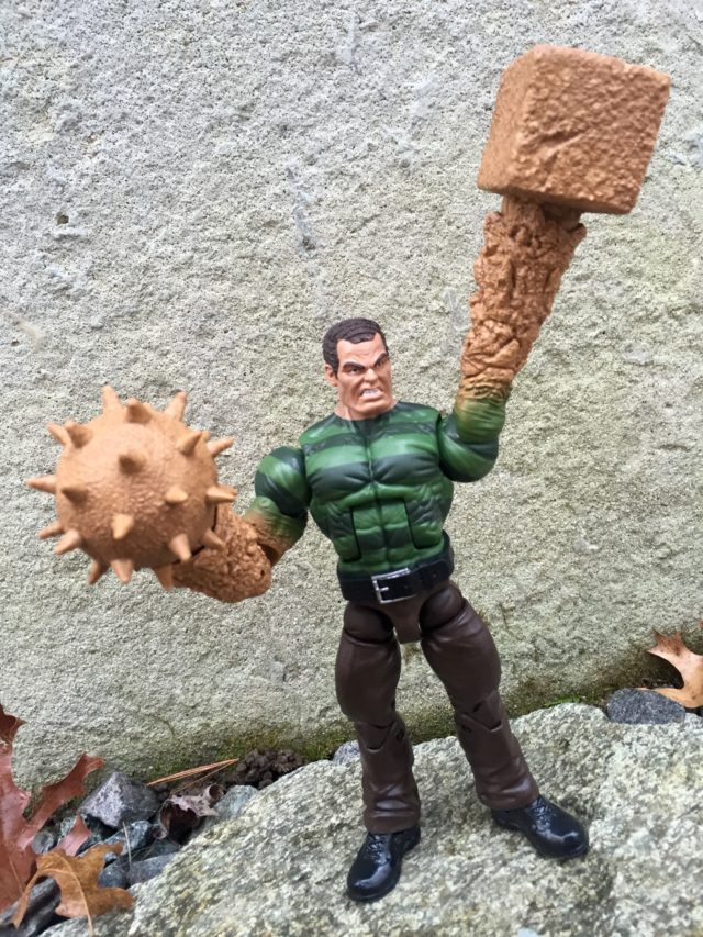 "Sandman Hasbro Marvel Legends 6"" Build-A-Figure Weapons"
