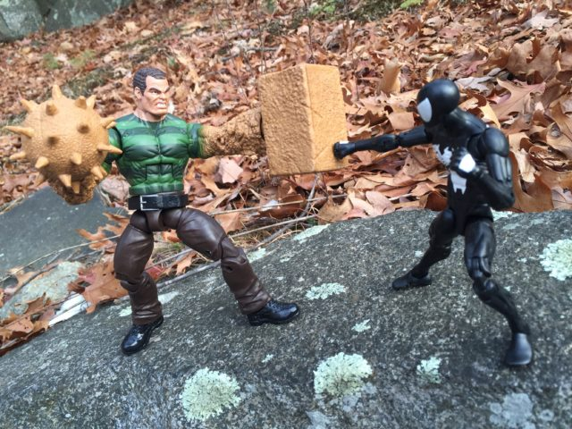 Marvel Legends Sandman vs. Symbiote Spider-Man