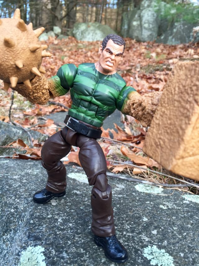 Marvel Legends Sandman Build-A-Figure Review
