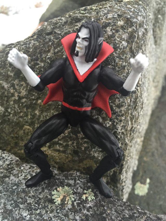 "Articulation on 4"" Hasbro Marvel Legends Morbius Figure"