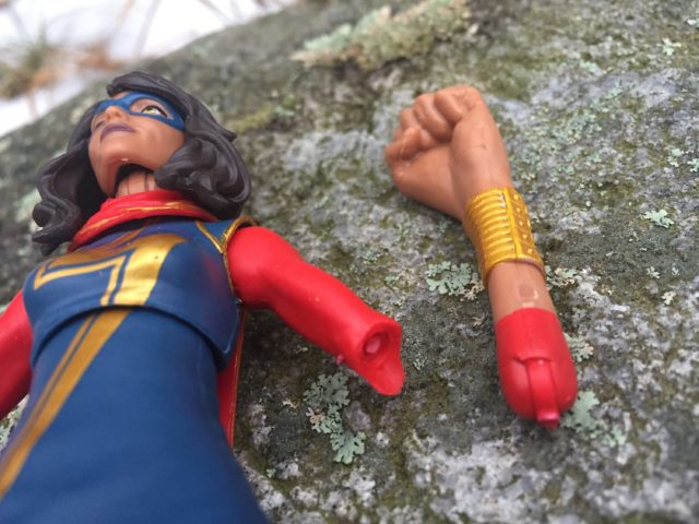 Marvel Legends Ms Marvel Broken Arm Joint