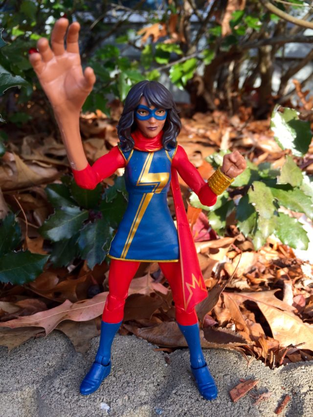 Ms. Marvel Kamala Khan Marvel Legends Embiggened Right Arm
