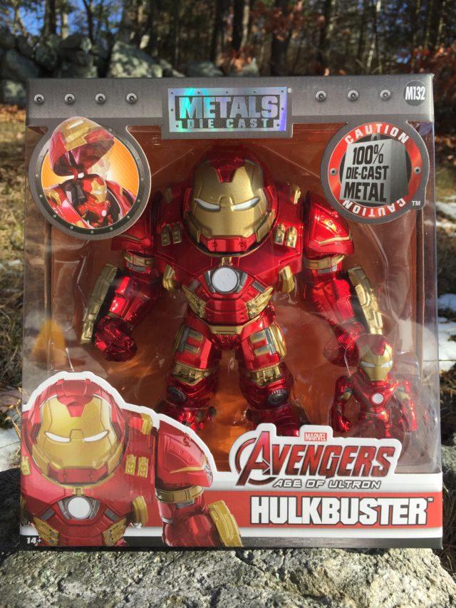 Jada Hulkbuster Metals Figure Packaged Box