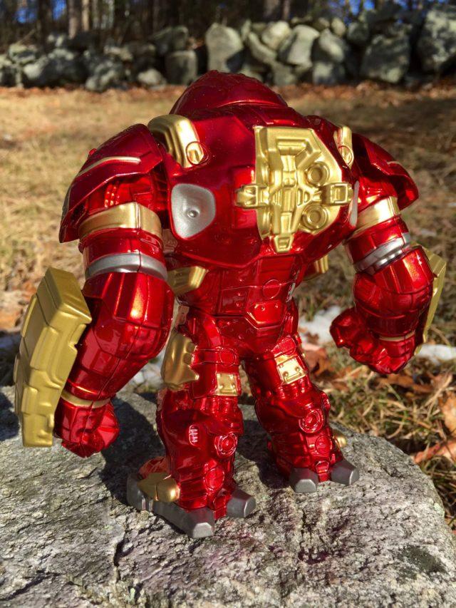 Back of Jada Die-Cast Metal Hulkbuster Iron Man