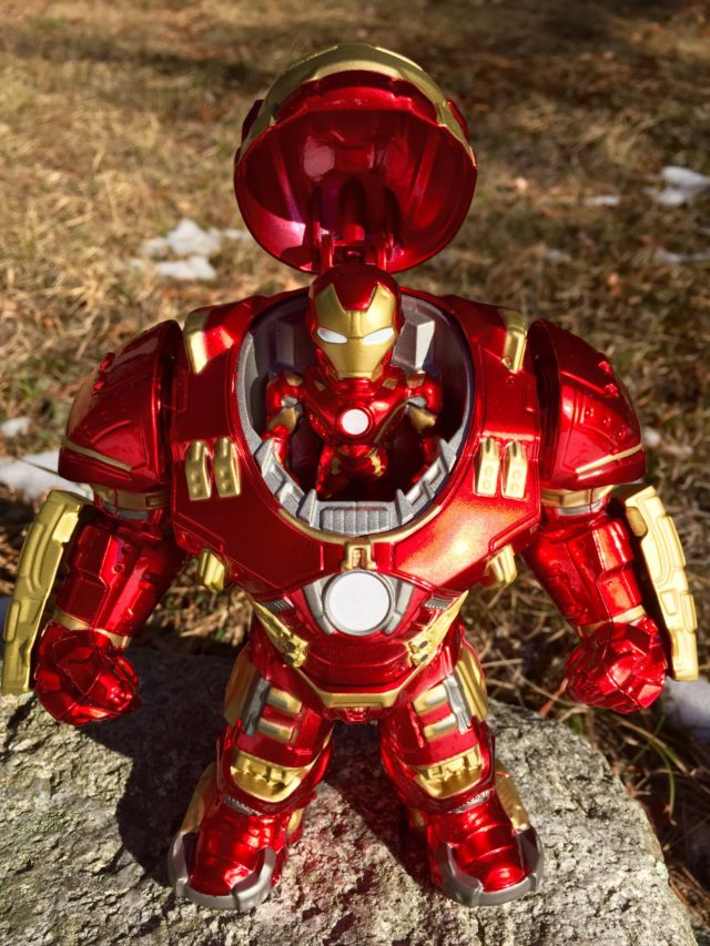 Jada Metals Iron Man Mark 43 in Hulkbuster Armor
