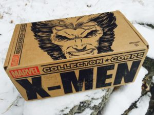Marvel Collector Corps X-Men Box Review Unboxing Spoilers