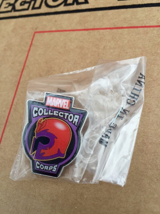Funko Magneto Pin Marvel Collector Corps