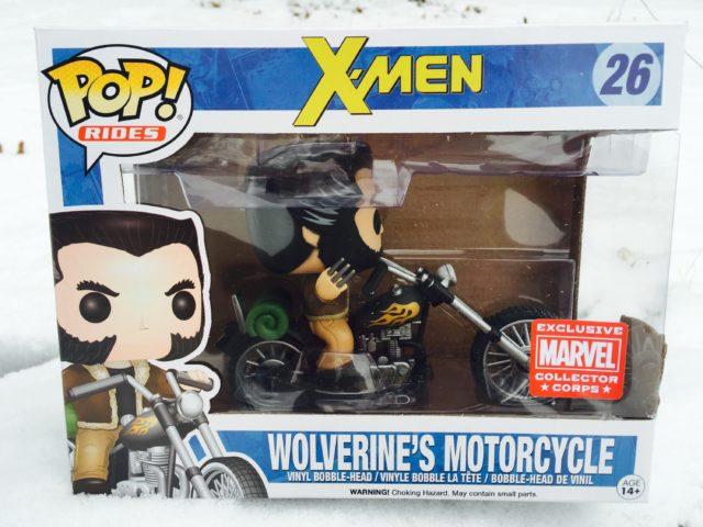 Funko POP Rides Wolverine's Motorcycle Vinyl Box