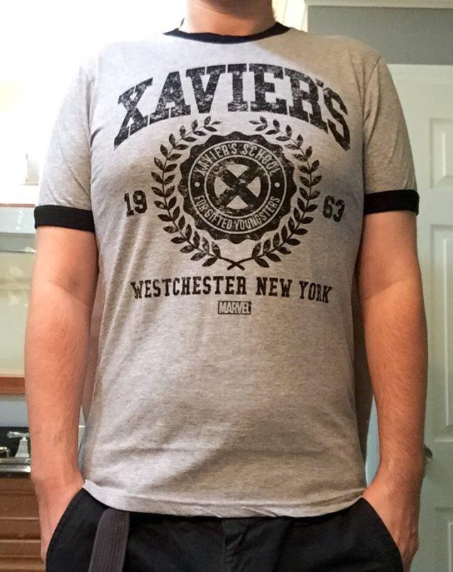 Funko Xavier's School X-Men Box Shirt Too Small
