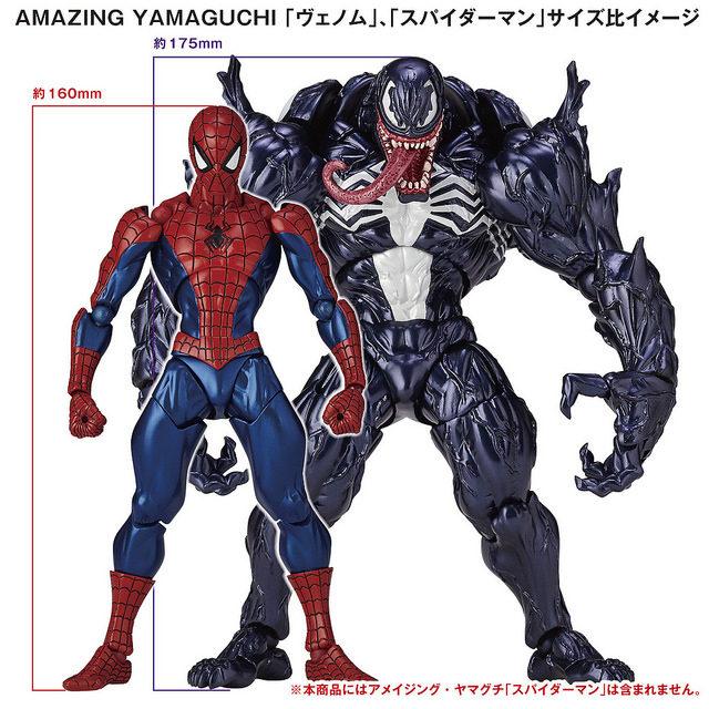 kaiyodo-revoltech-venom-figure-size-scale-comparison