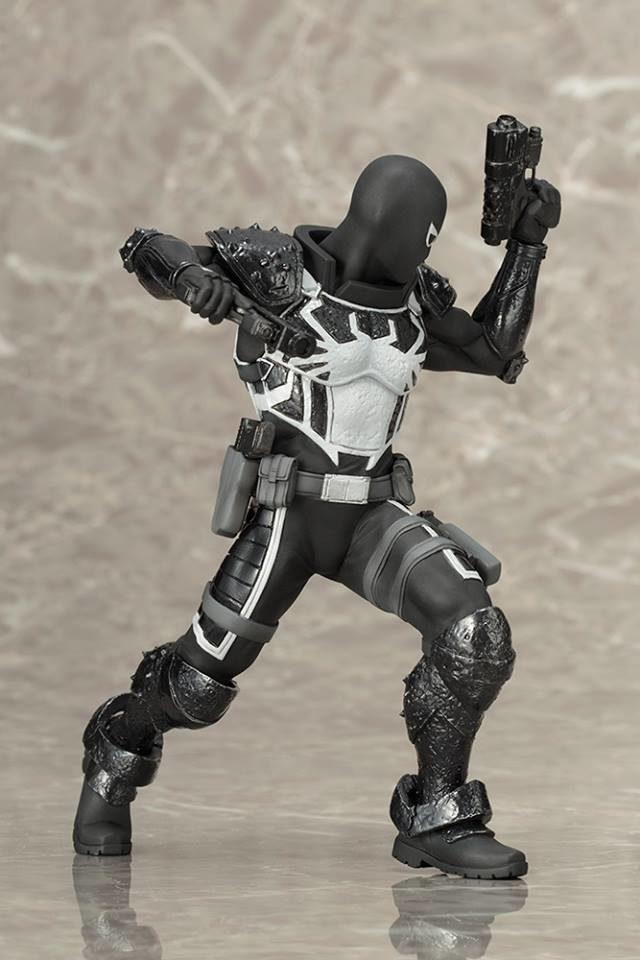 kotobukiya-2017-agent-venom-statue-spider-man-artfx-series