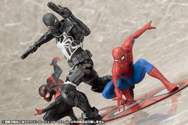 kotobukiya-spider-man-artfx-series-agent-venom-comparison-photo