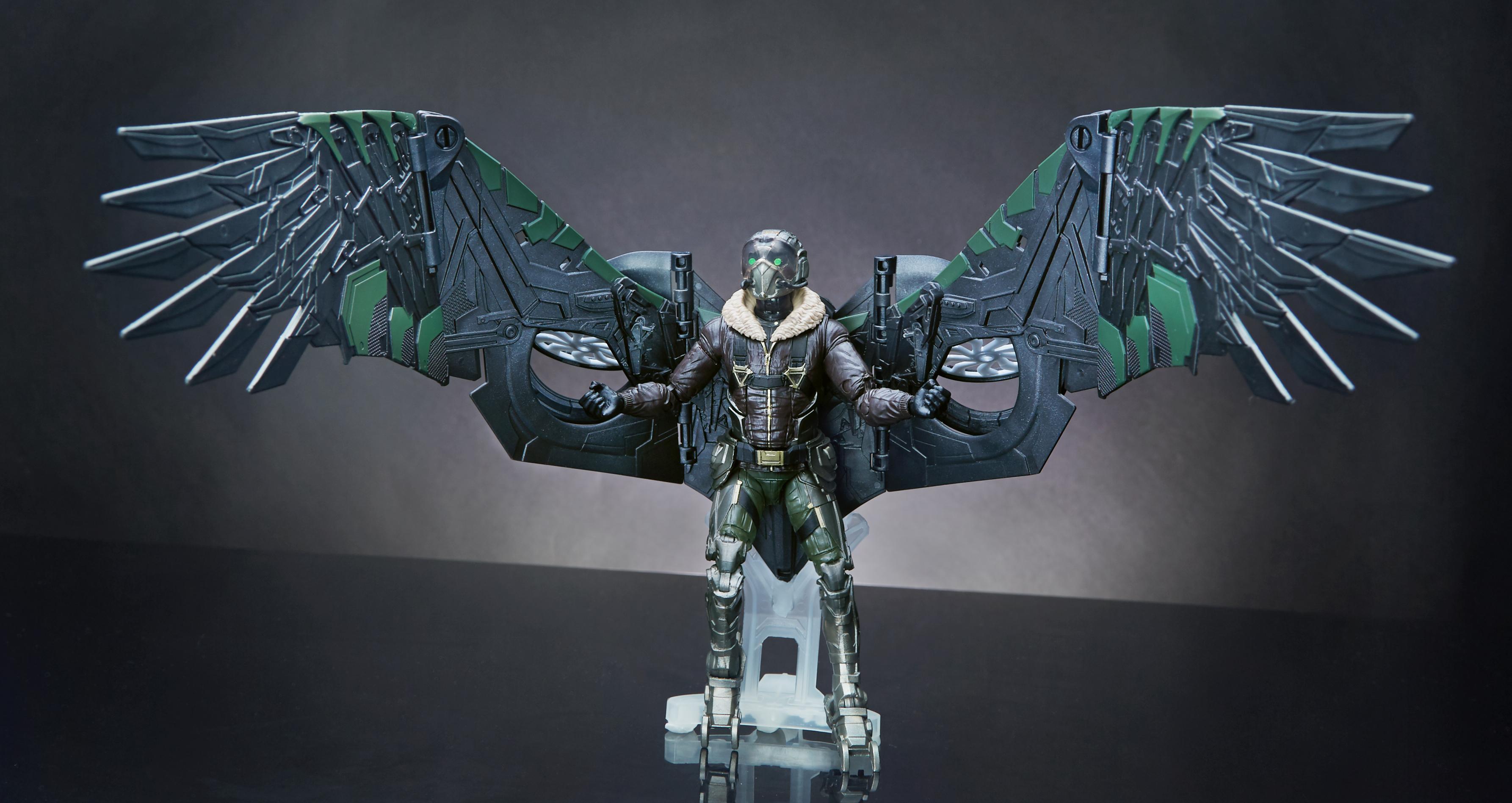 Marvel Legends Spider-Man Cosmic Spider Man Action Figure Build Vulture/'... NEW