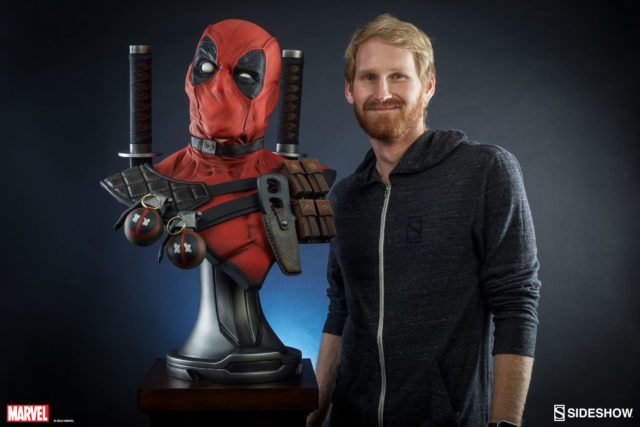 scale-photo-of-sideshow-deadpool-life-size-bust