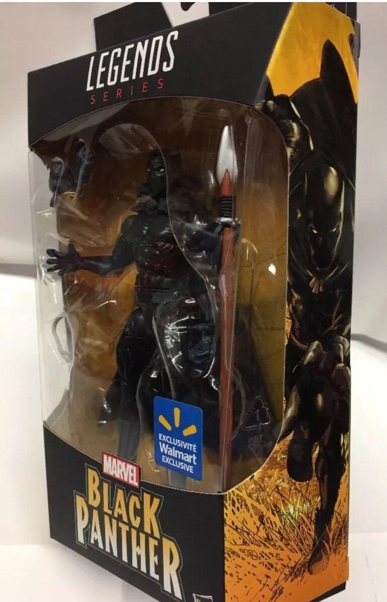 Black Panther Hero Marvel Legends Hasbro Walmart Exclusive Action Figure 6 inch
