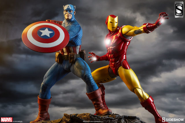 sideshow-avengers-assemble-statues-captain-america-and-iron-man