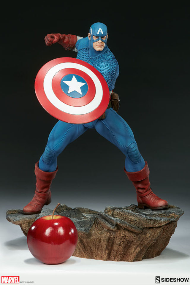 size-scale-photo-avengers-assemble-captain-america-sideshow-collectibles-statue