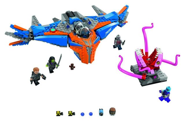 76081 LEGO Milano vs. The Abilisk Set Contents