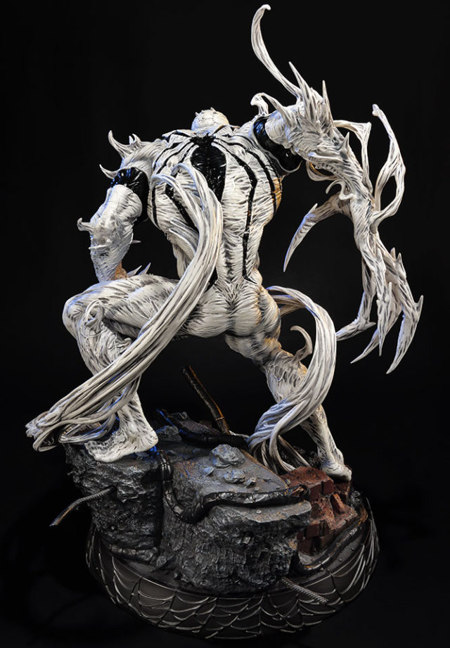 Anti Venom Statue by Prime 1 Studios Back Sideshow Collectibles