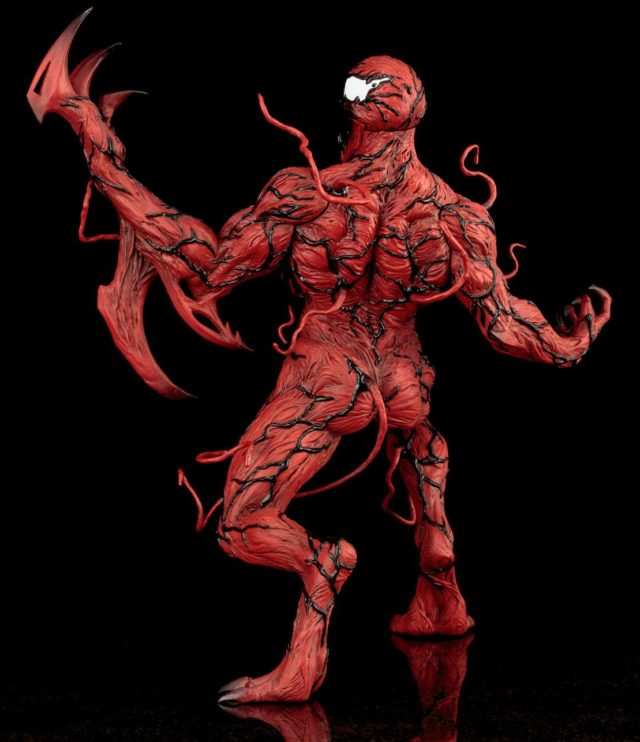 Back of Koto Carnage Statue ARTFX+ Spider-Man Series