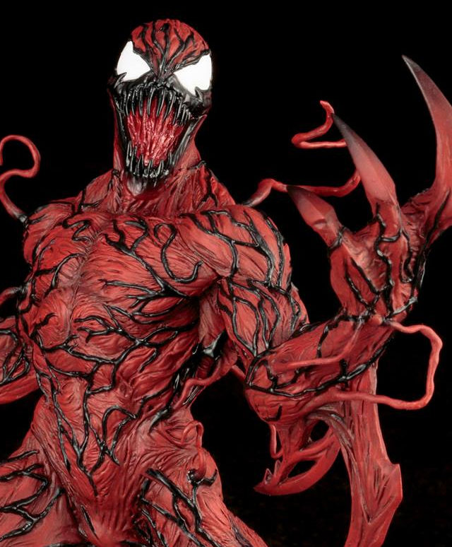 Carnage Kotobukiya ARTFX Statue Close-Up