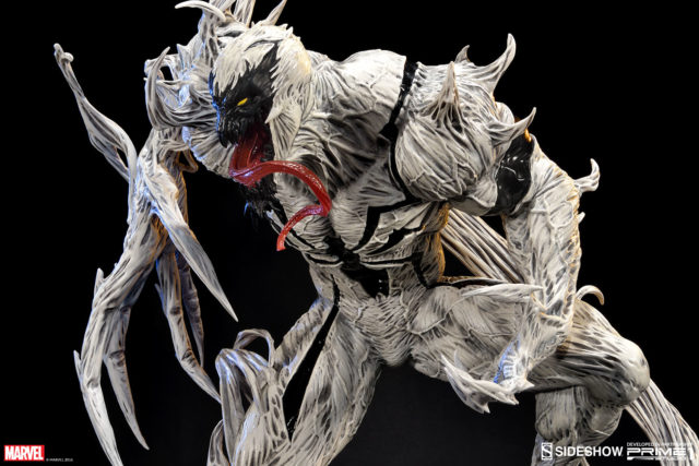 Close-Up of Prime 1 Marvel Anti Venom Figure Statue