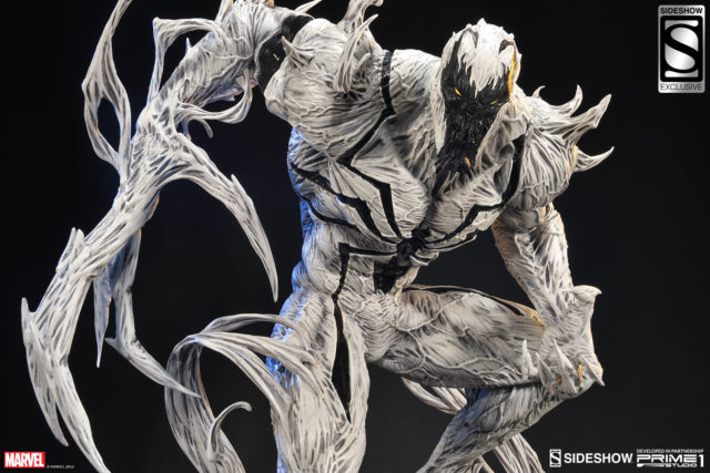 Closed Mouth Anti-Venom Prime 1 Studios Statue Exclusive Edition