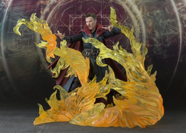 Doctor Strange Figuarts Figure with Burning Flame Set US Exclusive