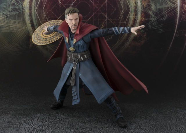 Dr Strange Figuarts Figure with Magic Effects Piece Bandai Bluefin