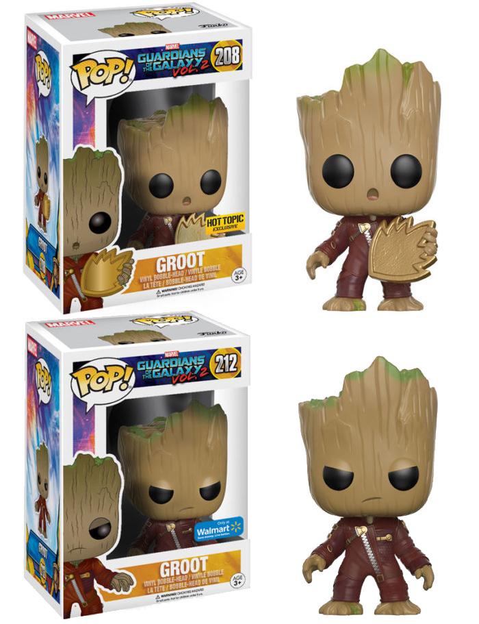 2 Guardians of the Galaxy: Vol Groot Pop Vinyl Figure NEW Funko