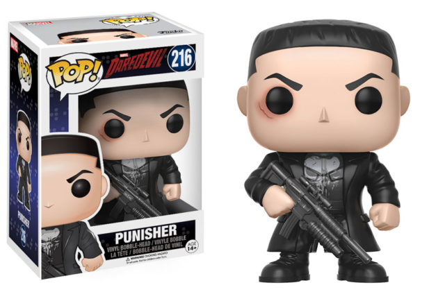 Funko POP Vinyls Netflix Daredevil Punisher Figure