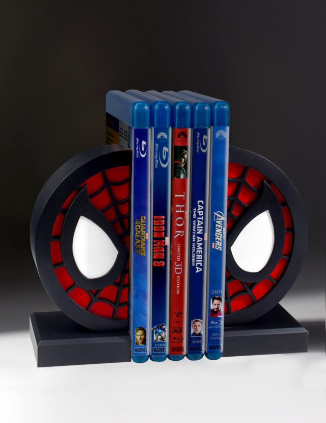 Gentle Giant Spider-Man Logo Bookends
