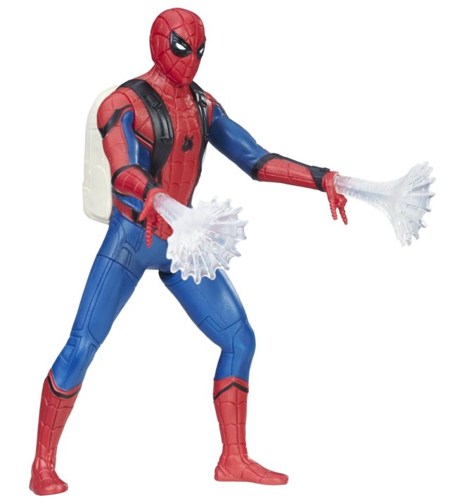 Hasbro Spider-Man Homecoming Spider-Man Feature Figure Movie