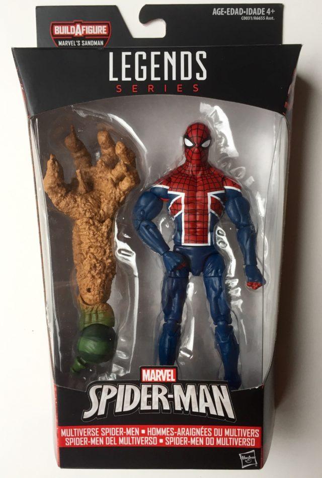 Spider-Man Legends Spider-UK Figure Packaged