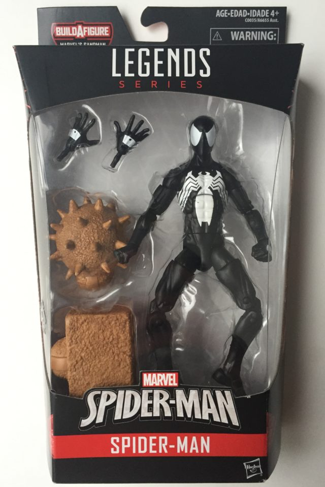 Spider-Man Marvel Legends Symbiote Spider-Man Packaged