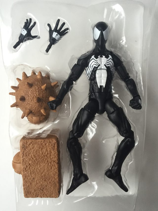 Hasbro Symbiote Spider-Man Sandman Series Figure and Accessories