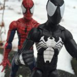 2017 Marvel Legends Symbiote Spider-Man Figure Review & Photos