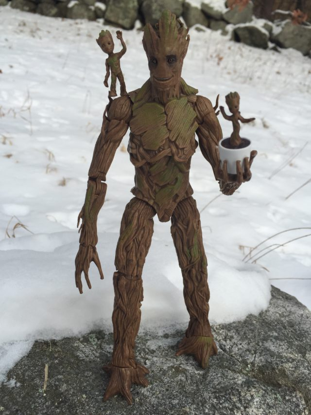 Marvel Legends 2017 Groot Build-A-Figure Toys R Us Exclusive