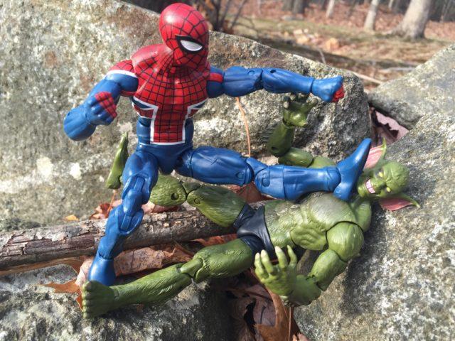 Spider-UK Legends Figure Kicks Jackal