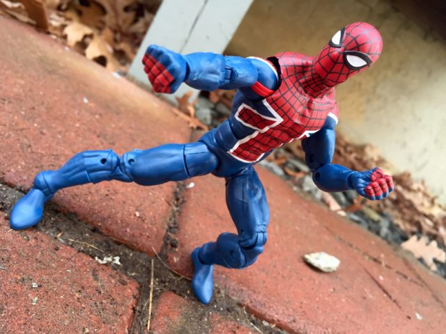 """Marvel Legends 2017 Spider-UK 6"""" Figure Review"""