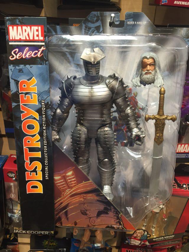 Marvel Select The Destroyer Odin Figure Released