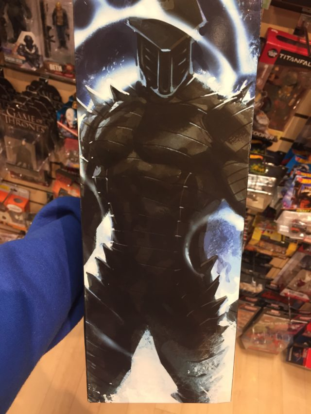 Side of Box Marvel Select The Destroyer Figure