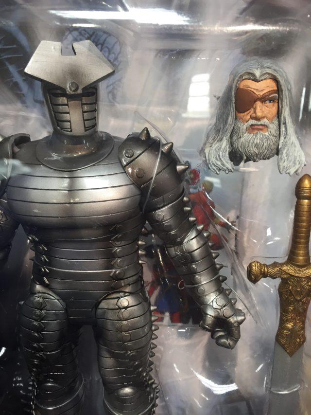 Close-Up of Diamond Select Toys Odin Head Marvel Select 2017