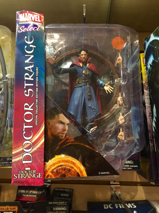 Doctor Strange Marvel Select DST Movie Figure Released