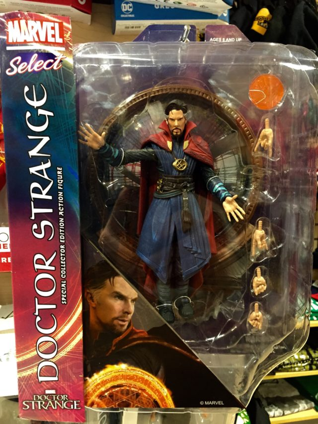 Marvel Select Doctor Strange Movie Figure Packaged